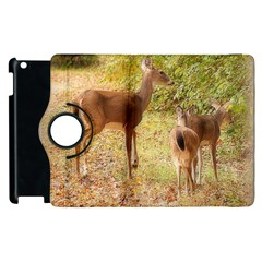 Deer In Nature Apple Ipad 3/4 Flip 360 Case by uniquedesignsbycassie