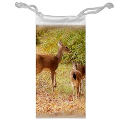 Deer In Nature Jewelry Bag by uniquedesignsbycassie