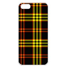 Tartan17c Apple Iphone 5 Seamless Case (white) by chivieridesigns