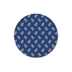 Boat Anchors Magnet 3  (round) by StuffOrSomething