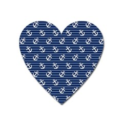 Boat Anchors Magnet (heart) by StuffOrSomething