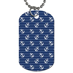 Boat Anchors Dog Tag (two Sided)  by StuffOrSomething