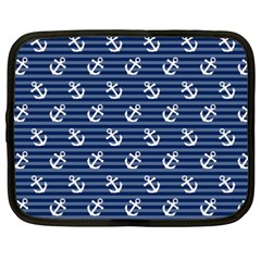 Boat Anchors Netbook Sleeve (xxl) by StuffOrSomething