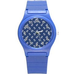 Boat Anchors Plastic Sport Watch (small) by StuffOrSomething