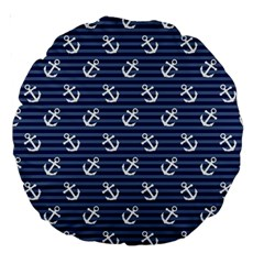Boat Anchors 18  Premium Round Cushion  by StuffOrSomething