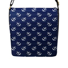 Boat Anchors Flap Closure Messenger Bag (large) by StuffOrSomething