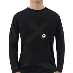 Crazyx Men s Long Sleeve T-shirt (dark Colored)