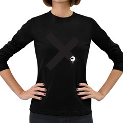 Crazyx Women s Long Sleeve T Shirt (dark Colored) by Contest1918947