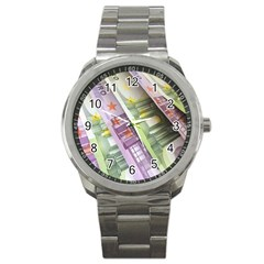 Just Gimme Money Sport Metal Watch by StuffOrSomething