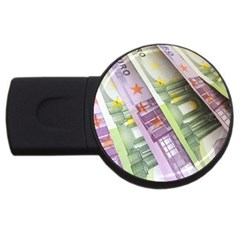 Just Gimme Money 4gb Usb Flash Drive (round) by StuffOrSomething