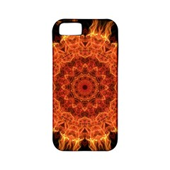Flaming Sun Apple Iphone 5 Classic Hardshell Case (pc+silicone) by Zandiepants