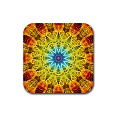 Flower Bouquet Drink Coasters 4 Pack (square) by Zandiepants