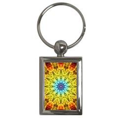 Flower Bouquet Key Chain (rectangle)