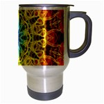 Flower Bouquet Travel Mug (Silver Gray) Right