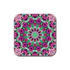 Flower Garden Drink Coaster (square) by Zandiepants