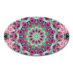 Flower Garden Magnet (oval) by Zandiepants