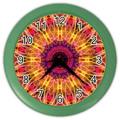 Gemstone Dream Wall Clock (color) by Zandiepants
