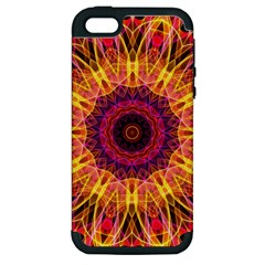 Gemstone Dream Apple Iphone 5 Hardshell Case (pc+silicone) by Zandiepants