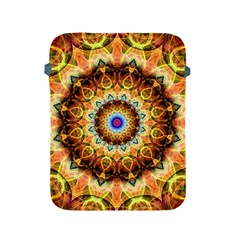 Ochre Burnt Glass Apple Ipad Protective Sleeve by Zandiepants