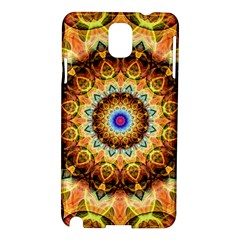Ochre Burnt Glass Samsung Galaxy Note 3 N9005 Hardshell Case by Zandiepants