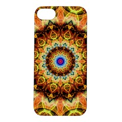 Ochre Burnt Glass Apple Iphone 5s Hardshell Case by Zandiepants