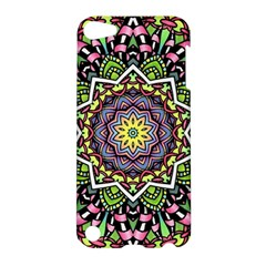 Psychedelic Leaves Mandala Apple Ipod Touch 5 Hardshell Case by Zandiepants