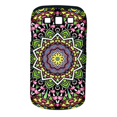 Psychedelic Leaves Mandala Samsung Galaxy S Iii Classic Hardshell Case (pc+silicone) by Zandiepants