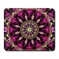 Purple Flower Large Mouse Pad (rectangle) by Zandiepants