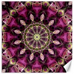 Purple Flower Canvas 12  X 12  (unframed) by Zandiepants