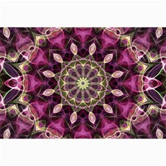 Purple Flower Canvas 24  X 36  (unframed) by Zandiepants
