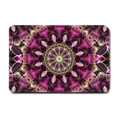 Purple Flower Small Door Mat by Zandiepants