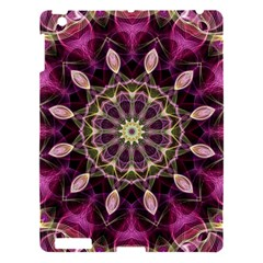 Purple Flower Apple Ipad 3/4 Hardshell Case by Zandiepants