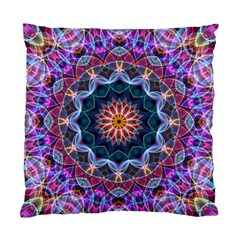 Purple Lotus Cushion Case (single Sided)  by Zandiepants