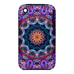 Purple Lotus Apple Iphone 3g/3gs Hardshell Case (pc+silicone) by Zandiepants
