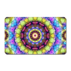 Rainbow Glass Magnet (rectangular) by Zandiepants