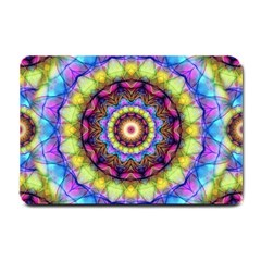 Rainbow Glass Small Door Mat by Zandiepants