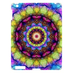 Rainbow Glass Apple Ipad 3/4 Hardshell Case by Zandiepants