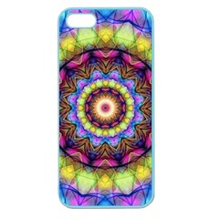 Rainbow Glass Apple Seamless Iphone 5 Case (color) by Zandiepants