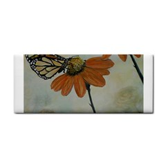 Monarch Hand Towel by rokinronda