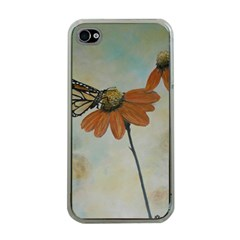 Monarch Apple Iphone 4 Case (clear) by rokinronda