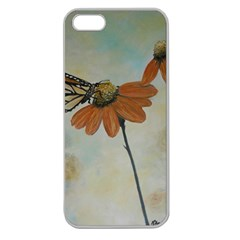Monarch Apple Seamless Iphone 5 Case (clear) by rokinronda
