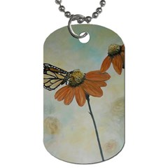 Monarch Dog Tag (two Sided)