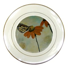 Monarch Porcelain Display Plate by rokinronda