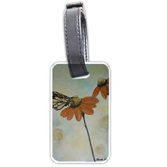 Monarch Luggage Tag (two Sides) by rokinronda