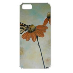 Monarch Apple Iphone 5 Seamless Case (white) by rokinronda