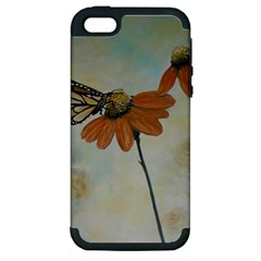 Monarch Apple Iphone 5 Hardshell Case (pc+silicone) by rokinronda