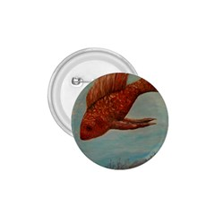 Gold Fish 1 75  Button by rokinronda