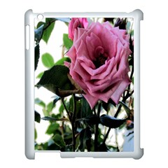 Rose Apple Ipad 3/4 Case (white) by Rbrendes