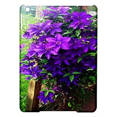 Purple Flowers Apple Ipad Air Hardshell Case by Rbrendes