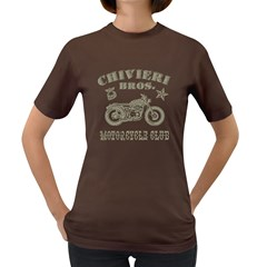 Chivieri Bros  Motorcycle Club Women s T Shirt (colored) by chivieridesigns